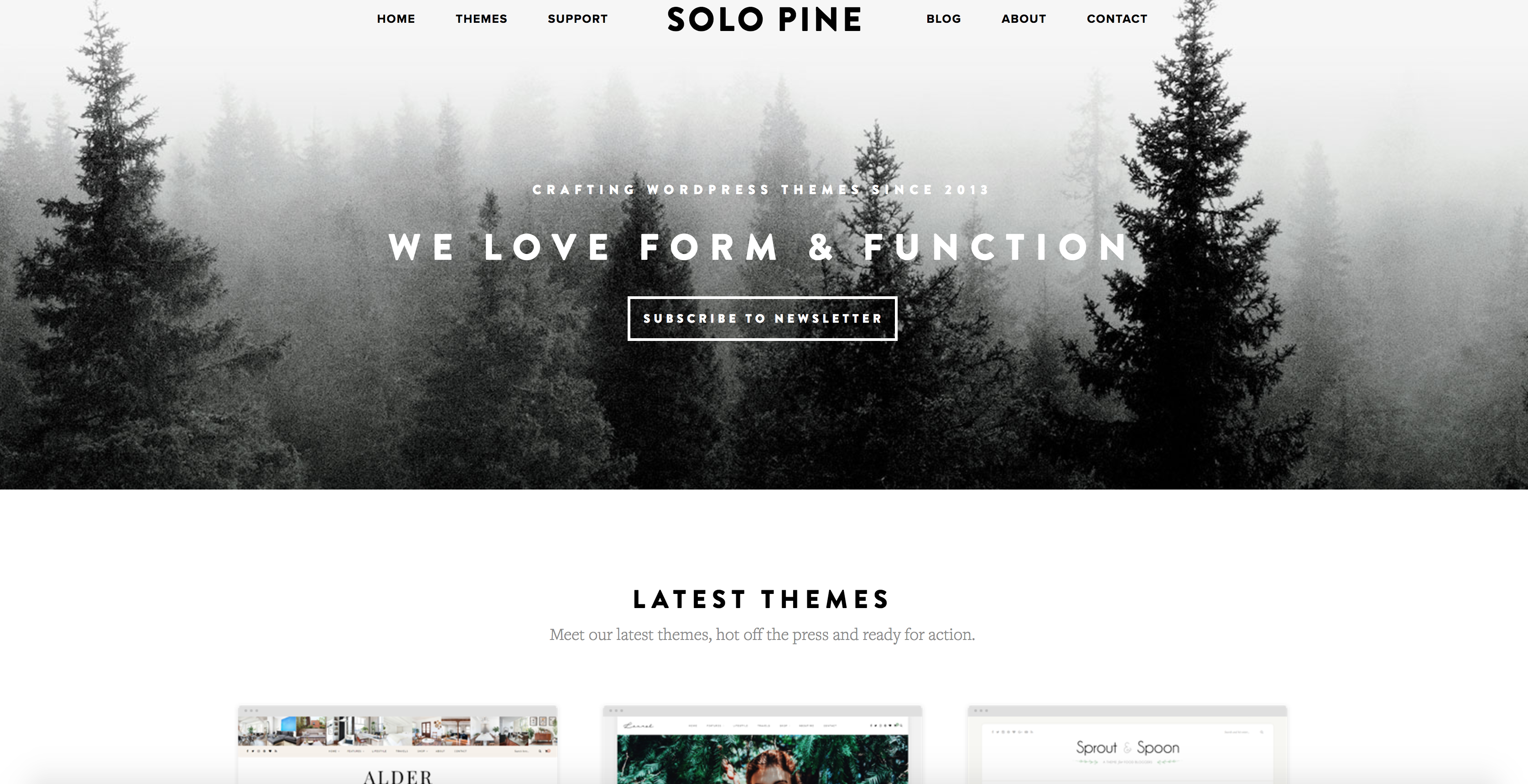 cb31b9458f45 ... WordPress theme creators – Solo Pine. Screen Shot 2017-07-18 at 12.59.54
